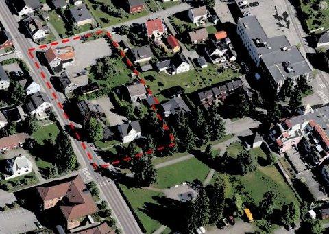Ivar Risheim har planer for en tettere vestre del av Kvartal 20: 31 leiligheter og 750 kvadratmeter kontorareal.