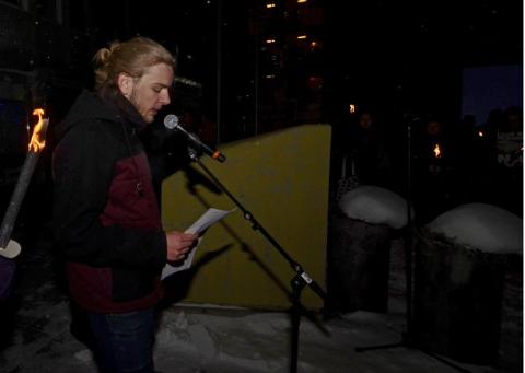 Christoffer Bakken Tallerås (23) er fylkesleder i Grønn Ungdom Innlandet, organisasjonen som stiller seg i spissen for streiken i Lillehammer fredag.