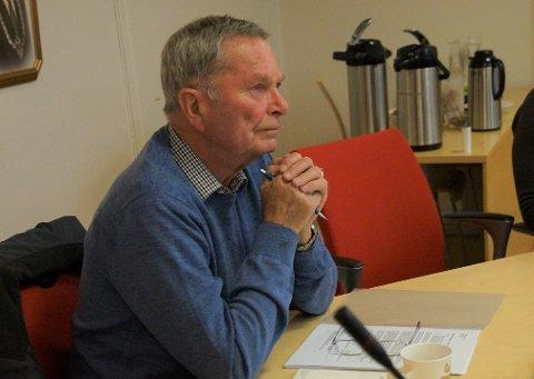 DELVIS MEDHOLD: Svein Harald Lunde fikk delvis medhold i sin klage på støyskjermingstiltakene Bane Nor planlegger i forbindelse med nytt krysningsspor på Monsrud.