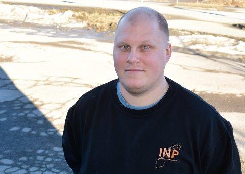BLE POLITIKER: Glenn Eck-Kristiansen (30) er fersk som politiker i Industri- og næringspartiet.