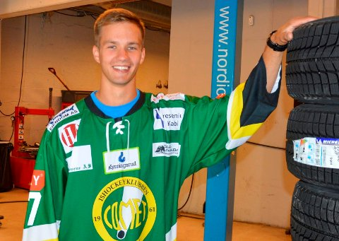 BLIR I COMET: Jaunius Jasinevicius har skrevet ny 1 års kontrakt med de grønne.