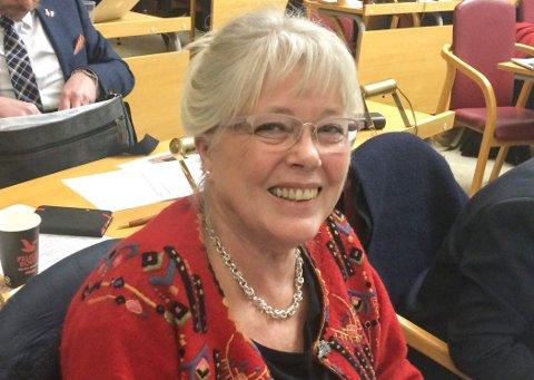 VIL BEHOLDE TINGRETTEN: Anne-Kari Holm (Sp), varaordfører