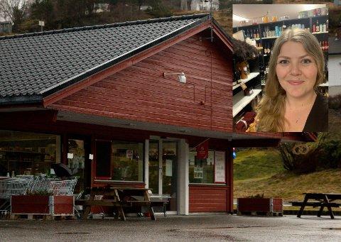Automatisering: Herand landhandleri og daglig leder Christel Johansen satser på modernisering av kassasystemet i butikken. Foto: Sondre Lingås Haukedal/Privat