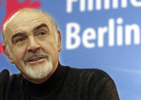 DØD: Skuespiller Sean Connery døde lørdag. Bildet er fra 2001.