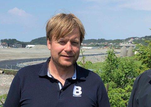 OVERSKUDD: Kai Peder Birkeland er daglig leder og medeier i Birkeland AS. Entreprenørfirmaet kan se tilbake på fusjon, oppkjøp og rekordår.