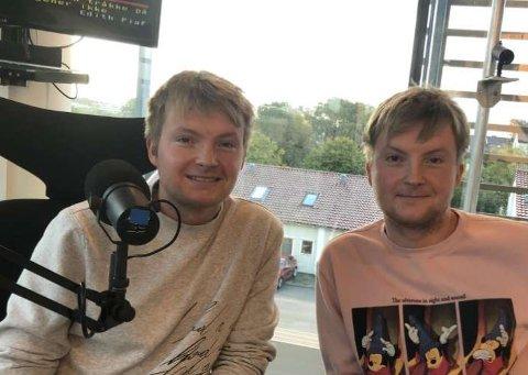 SKAL PÅ TV: Brødrene Øyvind og Ole Jakob Vikse Kallevik er med på premieren på et nytt TV 2-program kommende fredag.
