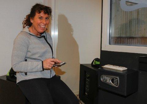 Bodil Berntsen er instruktør og hun er klar. - Første økt blir en 30 minutters økt med  Just Move, sier hun.