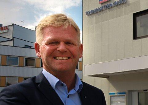 GIR SEG: Roger Granheim går av som leder av transportselskapet Torghatten.