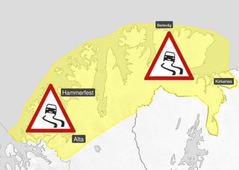 SNØ I VENTE: Nå kommer snøen, vinden og de vanskelige kjøreforholdene.