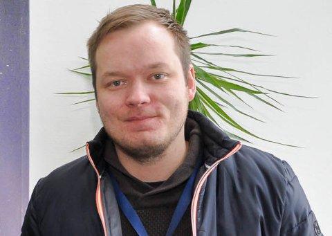 MØTE MED FINLAND: Odfører i Kautokeino, Johan Vasara, hadde et møte i forrige uke med en finsk konsulent som har meldt sin interesse for å utføre en utredning med fokus på det samfunnsøkonomiske aspektet ved en flyplass i kommunen.