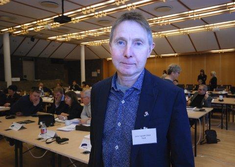 ALLE TAPER: Vedtaket om å holde kraftmillionene ute av finnmarkingenes hender når fylkene slås sammen, tjener hverken folk i Troms eller Finnmark. Det mener Rødt-politiker Jens Ingvald Olsen, som sitter i fellesnemnda.