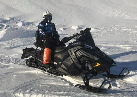 STJÅLET: Odd Yngvar Baso hadde kjøpt seg en helt ny scooter til påske. Mandag morgen var den borte.