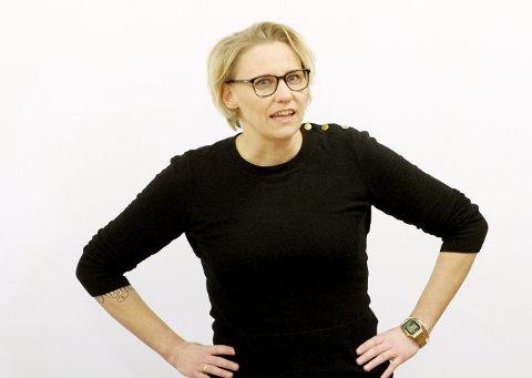 Holdt en appell: Stortingsrepresentant Maria-Karine Aasen-Svensrud fra Åsgårdstrand understreket viktigheten av hver enkelts engasjement fram mot valget. Foto: Pål Nordby