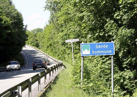Stenger torsdag: Fylkesvei 313 vil være stengt i en time. Foto: Pål Nordby