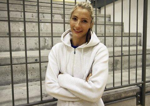 MÅLVAKT: Emily Stang Sando, som er klubbspiller for SG BBM Bietigheim, er i den norske EM-troppen.