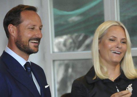 Trives i Kragerø: Kronprins Haakon og kronprinsesse Mette-Marit trivdes godt i Kragerø.