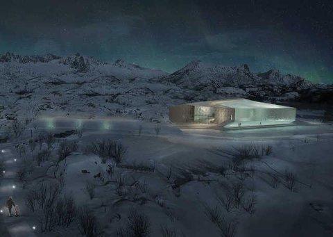 Slik ser LPO Arkitekter for seg nye SKREI temapark i Storvågan skal bli.