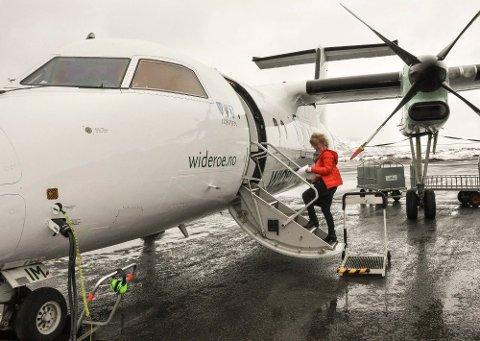 EL-FLY: Storflyplass og flere turister eller kortbanenett med el-fly? Spørsmålet ble stilt i møtet i Lofotrådet av Universitetet i Tromsø.