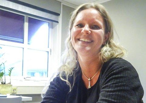 BIDRAR: Kristina Syversen er psykiatrisk vernepleier i Råde kommune.