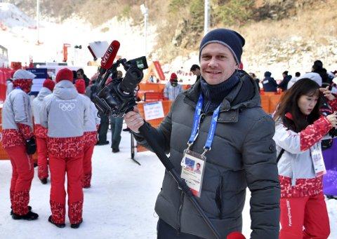 Thor-Erik Claussen, VGs utsendte OL-journalist.