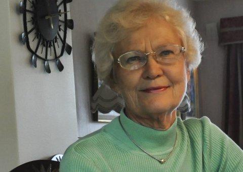 Bente Bakke (76). Lokalpolitiker for Miljøpartiet de Grønne