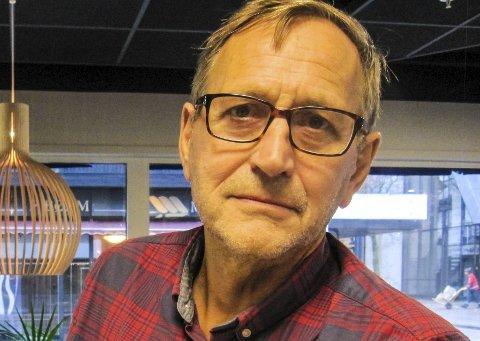 DAGENS NAVN: Eirik Tveiten Lokalpolitiker, representerer Rødt.