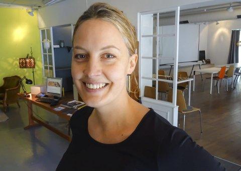 DAGENS NAVN: Hanne Eriksen (37)  er daglig leder i Verket FabLab.