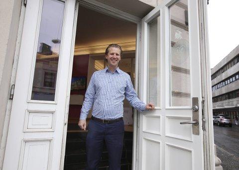 MANGE HUS: Joachim Kolderup, daglig leder i Krogsveen Moss AS, har vært inne i de fleste boliger i mossedistriktet.