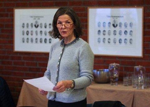 PÅ FØRSTEPLASS: Benedicte Dyvik er Høyres ordførerkandidat i Våler.