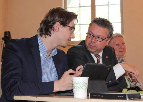 SØNNEN SOM RÅDGIVER: Ulf Leirstein har ansatt sønnen Alexander som rådgiver på Stortinget.