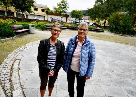 Astrid Aspaas og Reidun Formo gleder seg til å starte opp igjen med øvinger i Sel seniorkor.
