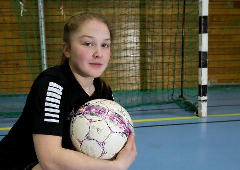 STORTALENT: 14 år gamle Hedda Olsen knuste alle rekorder.  - Oppsiktsvekkende, mener treneren.