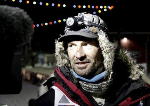 Måtte gi seg: Thomas Wærner måtte bryte Finnmarksløpet i dag på grunn av diare hos de fleste av hundene i spannet. ARKIVFOTO