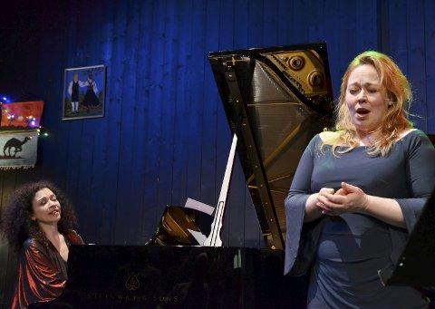 TOPPÅPNING: Sopranen Marita Sølberg og pianist Marianna Shirinyan satte standarden for et nytt konsertår med Resonans.FOTO: Hans Olav Granheim
