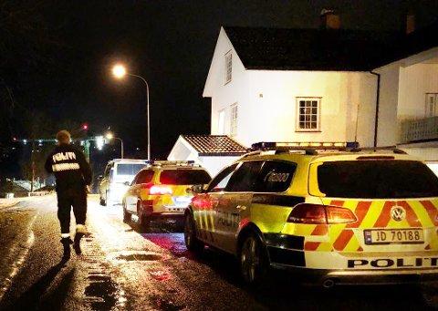 REKONSTRUKSJON: Onsdag ble det gjennomført rekonstruksjoner av drapet på Roar Engelund.