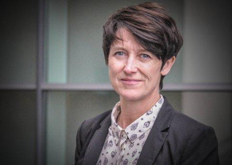 - MULIG BRANNBOMBE: Aud Hove (Sp) sier sykehusprosessen nå går fort. Hun mener de folkevalgte ikke må låse seg til vedtaket fra 2017.