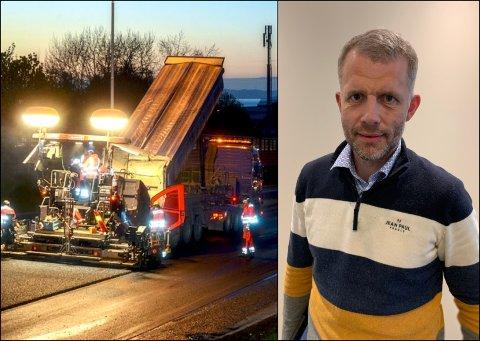 STOLT: Seksjonsleder Asbjørn Stensrud i Statens vegvesen er stolt over at arbeidsvilkår og klima blir viktigere i anbudsrunder for veiprosjekter.