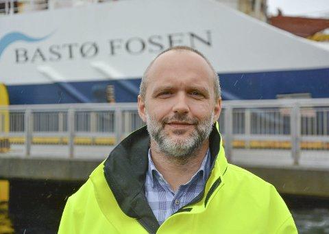 FOR TIDLIG: Direktør ved Bastø Fosen AS, Øyvind Lund, vil vente med å svare på om noe kunne vært gjort annerledes. Først må politiet bli ferdige med etterforskningen og fakta må komme på bordet, sier han.