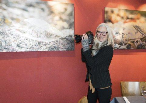 Alene: For første gang skal Lise Reng ha separatutstilling. Åpning blir på Il Passatore søndag.foto: per Albrigtsen