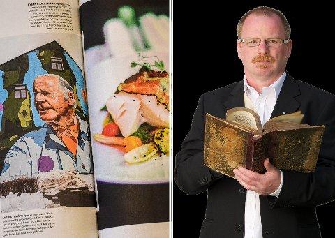 GOD KVALITET: Mat fra Norge-redaktøren syntes kvaliteten var god på de fire spisestedene han besøkte. Skrei på Grand var perfekt stekt, i følge redaktøren.