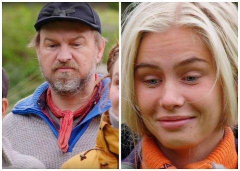 HJELPER: Halvor Sveen ble valgt til hjelper av storbonde Amalie Snøløs mandag kveld. Han takket ja til å bli med den blide sørlandsjenta i storbondehuset. Han tror det er en fordel som vil hindre at han blir valgt som førstekjempe til søndagens tvekamp.