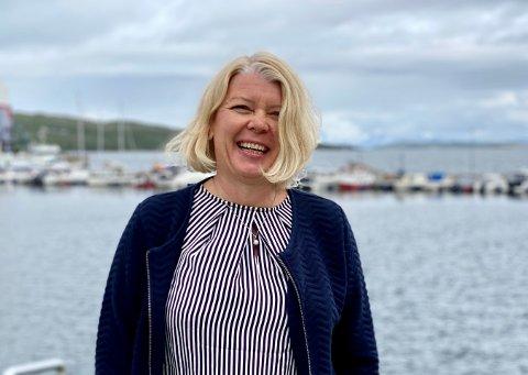 FRA FLY TIL BÅT: Lufthavnsjef Anne Britt Bekken blir havnedirektør i Harstad. Ett av målene til havna blir ifølge styreleder Frank Eilertsen å gjøre Harstad havn til den største havna i regionen.