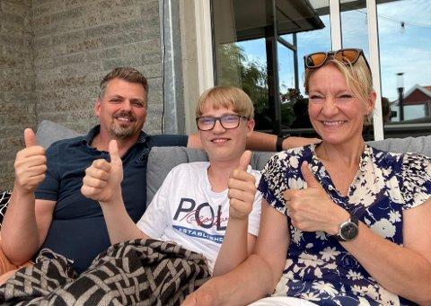Grete Bjørndal er nå godt på plass med familien på Føynland. Se hvordan siste etappe i flytteeventyret deres har vært.