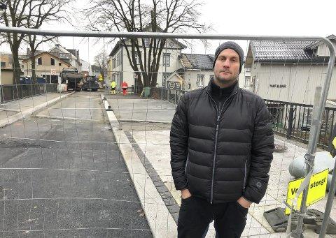 I MÅL: Prosjektleder Andersen har fullført på Osebro.