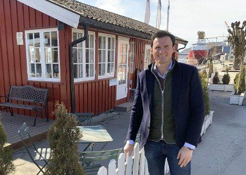 NY LEIEAVTALE: Simon S. Stordalen hos Bratsberg AS bekrefter at de har signert ny langsiktig leieavtale med Atle Brynestad for porselensfabrikken og fabrikkutsalget.