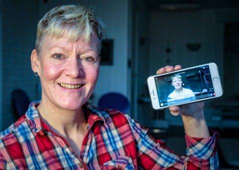 Torunn Sund-Olsen i SundTerapi AS flytter bedriften hjem til Båsmoen, og tilbudene om yoga og fitline vil fra nå gå online.