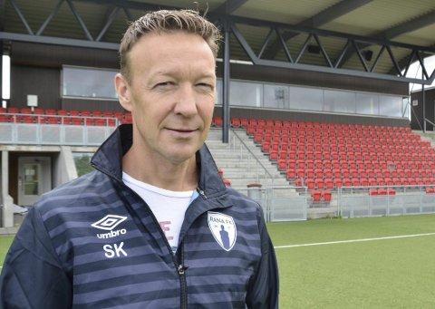 Jobber med budsjett: Leder i Rana FK, Ståle Krokstrand, sier styret i klubben jobber med å ferdigstille budsjettet for 2020. Foto: Trond Isaksen
