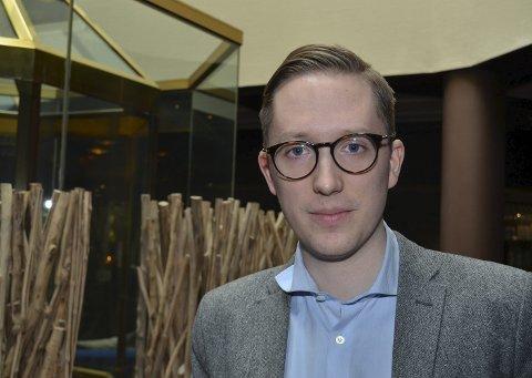 På trass: Høyres toppkandidat i Hedmark, Kristian Tonning Riise meldte seg inn i Høyre, nærmest som en protest fordi ingen andre gjordet det på den tida. I 2005.