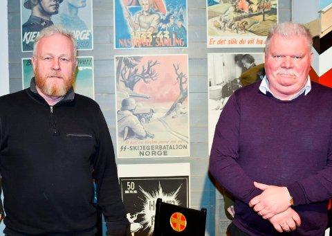 RB-PODDEN: Ikke alle var dedikerte gutter på skauen under andre verdenskrig. Harald Sunde (t.v.) og Roger Andreassen gir deg mer kunnskap om hvem som løp nazistenes ærend under krigen.