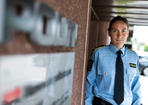 IKKE FERDIG: Politiadvokat Hildegunn Teigen opplyser at politiet fortsatt ikke har fått gått gjennom hele beslaget, åtte måneder etter at siktede ble fengslet.